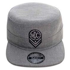Cap Militar Urbano, em poliéster, marca MXC original, aba 8 costuras.