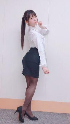 上坂すみれ Pantyhose Fashion, Pantyhose Outfits, In Pantyhose, Cute Asian Girls, Beautiful Asian Girls, Cute Girls, Cute Japanese Girl, Japanese Sexy, Japonesas Hot