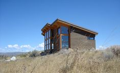 Shop for modern prefab and modular homes with our catalog-style database of modern prefab homes with images, plans, pricing, availability, and specs. Timber Cabin, Timber Frame Homes, Tiny House Cabin, Tiny House Living, Living Room, Stillwater Dwellings, Contemporary Sheds, Shed Roof Design, Modern Prefab Homes