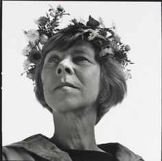 """""""I only want to live in peace and plant potatoes and dream!""""  Tove Marika Jansson August 9, 1914 - June 27, 2001"""