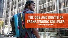 Transferring? Read this first. It is an important decision to make, so be sure to research well.