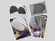 Kaarisillan käsityö: Kaksipuolinen trikoopipo Easy Sewing Projects, Just Giving, Needlework, Diy And Crafts, Textiles, Crafty, Fabric, Handmade, School Craft