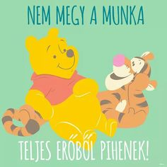 Pihi Winnie The Pooh, Have Fun, Disney Characters, Fictional Characters, Wisdom, Lol, Motivation, This Or That Questions, Words