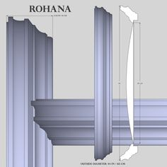 Detailed description and specifications for Rohana, 44 inch Decorative Convex and Flat Mirror from Reflecting Design Convex Mirror, Mantles, Round Mirrors, Sketch, Curtains, Interior Design, Decor, Sketch Drawing, Nest Design