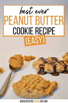 These peanut butter cookie recipes are fantastic for making easy cookies. Just 3 ingredient peanut butter cookies, no flour is needed and this is a great cookie recipe to make with kids. Learn how to make these peanut butter cookies for a special event or just on a random day. Peanut Butter Cookies 3 Ingredient Recipe, Classic Peanut Butter Cookie Recipe, Making Peanut Butter, Best Peanut Butter Cookies, Sugar Cookies Recipe, Cookie Recipes For Kids, Best Cookie Recipes, How To Make Cookies, Food To Make