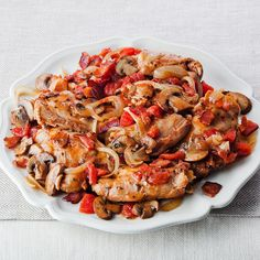 Large Mushrooms Baked With Smoky Chile Recipes — Dishmaps
