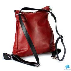 Valódi bőr női hátizsák - HÁTIZSÁK - Táska webáruház - bőrönd 93cd959f41