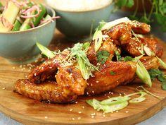 Kryddstarka kycklingvingar