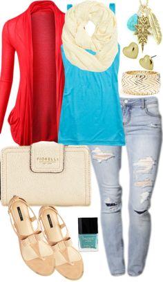 If My Blog Was An Outfit…  via www.hairsprayandhighheels.com