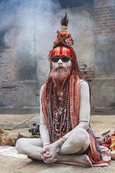 Cool Dude - Sadhu in Kathmandhu
