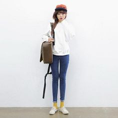 Middle Waist Skinny Pants http://koreanfashionworld.com/product/middle-waist-skinny-pants http://koreanfashionworld.com/category/korean-pants