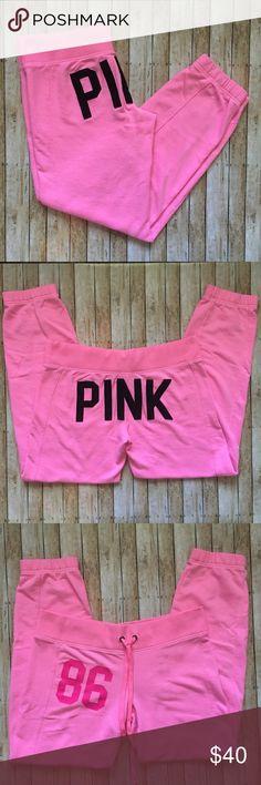 PINK Victoria's Secret Sweatpants PINK Victoria's Secret Sweatpants. Like new condition PINK Victoria's Secret Pants