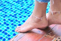 Dreamcatcher Anklet Silver Anklet Delicate Anklet Gift
