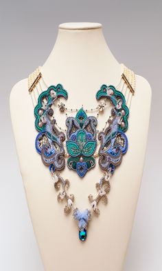 Bib-Style Necklace with Seed Beads and Cultured Freshwater Pearls - Fire Mountain Gems and Beads