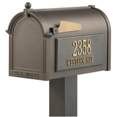 Premium Personalized Mailbox Package ($335) ❤ liked on Polyvore