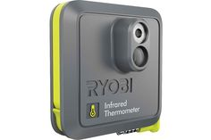 RYOBI introduces the PHONE WORKS Infrared Thermometer. Measure and record surface temperatures with more confidence and functionality than ever before. The RYOBI PHONE WORKS mobile app and Infrared Thermometer Technology Design, Digital Technology, Ryobi Tools, Woodworking Power Tools, Woodworking Logo, Woodworking Classes, Temperature Measurement, Infrared Thermometer, Electronic Recycling