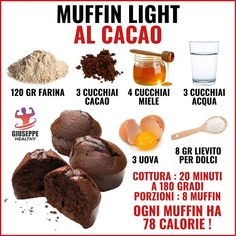 Conseils fitness en nutrition et en musculation. Healthy Muffins, Healthy Breakfast Recipes, Healthy Desserts, Delicious Desserts, Cooking Time, Cooking Recipes, Food Goals, Diet And Nutrition, Nutrition Education