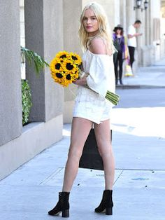 Fashion Beauty Express: 今年の夏は、オフショルダー!ケイト・ボスワース(Kate Bosworth)がお手本! ロープライス...