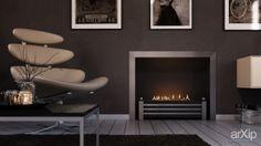 Гостиная с автоматическим биокамином для традиционного портала Westminster от Decoflame: архитектура, 1 эт   3м, хай-тек, гостиница, мотель, 200 - 300 м2, каркас - металл, коттедж, особняк #architecture #1fl_3m #hitech #hotel #motel #200_300m2 #frame_metal #cottage #mansion arXip.com