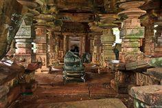 """Ruins of Shiva ( Sri ramalingeswara Swamy ) Temple at Ramappa Lake, Warangal, India"""""""