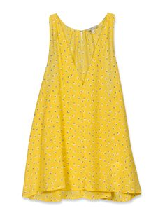 joie, bellflower top in canary, $168