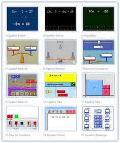 Johnnie's Middle School Math - Algebra Main Page