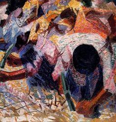 La rue Pavé - (Umberto Boccioni)