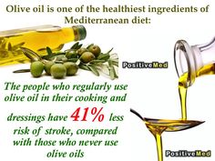 Olive Oil is one of the healthiest ingredients of the Mediterranean diet