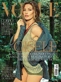 Gisele Bundchen by Jacques Dequeker Vogue Brazil July 2011