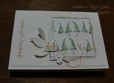 Dieser Text auf meiner heutigen Karte ist wieder ein Teil eines Designerpapierbogens von Alexandra Renke . Den Hintergrund habe ich mit mein...