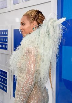 Beyoncè at the 2016 MTV Video Music Awards at Madison Square Garden Red Carpet on August 28, 2016 in New York City.