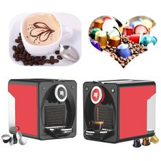 106.00$  Buy now - http://aliy5p.worldwells.pw/go.php?t=32769466197 - 19 bars 2016 New fashion Capsule coffee machine NESPRESSO