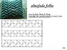 Gráficos para hacer cojines drapeados