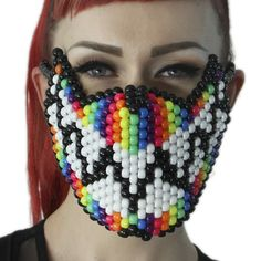 Do you have multicolor rave attire? Confused on what kind of mask you want to…