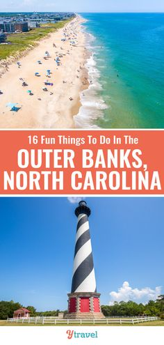 When you visit North Carolina, put the Outer Banks on your North Carolina travel itinerary, it's amazing! Here is a list of 16 fun things to do in the Outer Banks for your next North Carolina vacation. #OuterBanks #NorthCarolina #beaches #vacations #familytravel #NorthCarolinatravel #OBX #NC Visit North Carolina, North Carolina Vacations, Beach Fun, Beach Trip, Destin Beach, Stuff To Do, Things To Do, Outer Banks Nc, Cross Country Trip