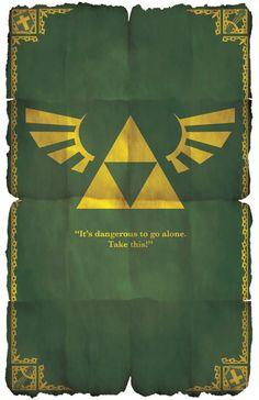 The Legend Of Zelda Poster from G-Bit Shop