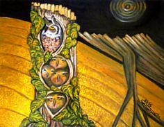 Bagoly család, olajfestmény, 18-a-csalad.jpg (480×373)