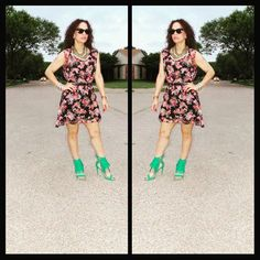 OOTD: Florals and Fringes...FashionRemix! These two F's, it's all I want for this #Summer2015! To read more about this #LatinaFashionDiary visit www.facebook.com/MadForFashionForLess and get inspired! #latinafashionblogger #lookforless #outfitideas #FashionOver30 #FashionRemix #StyleHunters #realoutfitgram #Baublebar #JustFabBA #fabshionista #ambsdr #2LocosDivas #2locosfashion @justfab