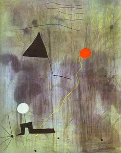 Joan Miró. The Birth of the World. Oil on canvas. 1925