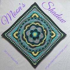 I just love crocheting squares, I love designing them, and I love making squares from other designers. Any project can become your own creative expression, when you mix and match squares. But….. I think it's time to mix it up a bit more! So here is the first of my LARGE squares, there will be more soon. Inspired Continue Reading