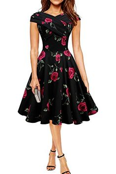 Black Butterfly 'Enya' Vintage Infinity Pin-up-Kleid (Große Rote Rosen, EUR 36 - XS) Black Butterfly Clothing http://www.amazon.de/dp/B00S1L4VRS/ref=cm_sw_r_pi_dp_incdwb09HWTDR