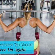 6 exercises you should never do again - Fitnessmagazine.com