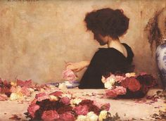 herbert james draper, Pot-pourri,  1897