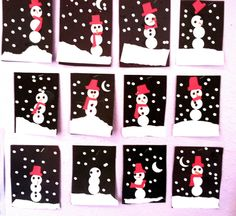 Mama's Little Muse: Snowman craft