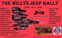 Home - (8th ANNUAL) THE WILLYS JEEP RALLY! 2016