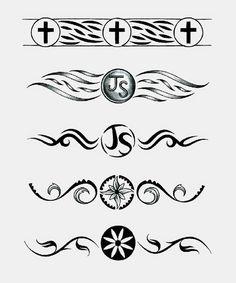 wedding rings tattoos designs