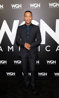 Executive producer John Legend attends the WGN America Winter TCA at Langham Hotel on January 13, 2017 in Pasadena, California.