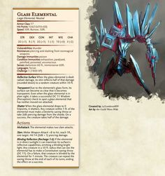 [Items] Spellbreaker's Arsenal (Five anti-caster items, unique recharging rituals) Dungeons And Dragons Homebrew, D&d Dungeons And Dragons, Fantasy Monster, Monster Art, Fantasy Creatures, Mythical Creatures, Dnd Stats, Dnd Dragons, Dnd 5e Homebrew