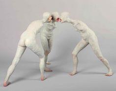 Las inquietantes y hermosas esculturas humanas de Choi Xoo Ang