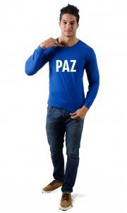 Camiseta Paz por apenas R$37,50 no site Camiseta Ilustrada!